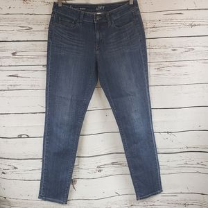 Ann Taylor Loft Curvy Skinny Jeans